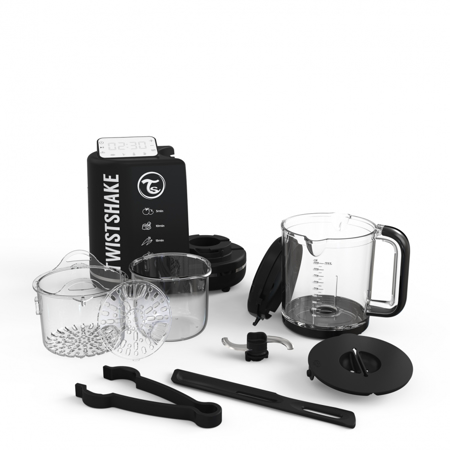 Twistshake Baby Food Processor 6in1 Black