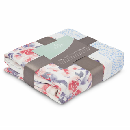 Picture of Aden+Anais® Classic Dream Blanket Watercolour Garden (120x120)