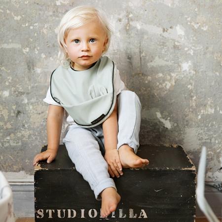 Elodie Details® Baby Bib Mineral Green