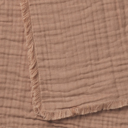 Elodie Details Soft Cotton Blanket - Faded Rose