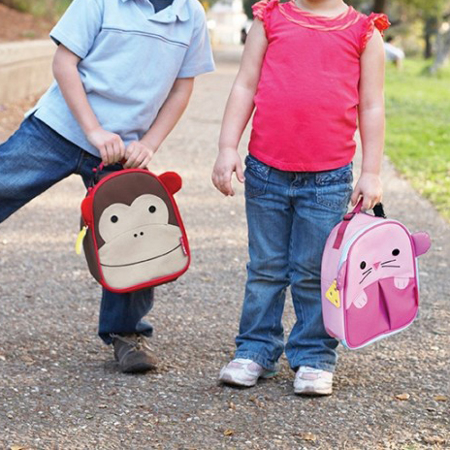 Picture of Skip Hop® Insulated Kids Lunch Bag Monkey