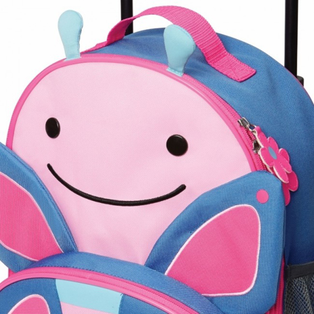 Picture of Skip Hop® Kids Rolling Luggage Butterfly