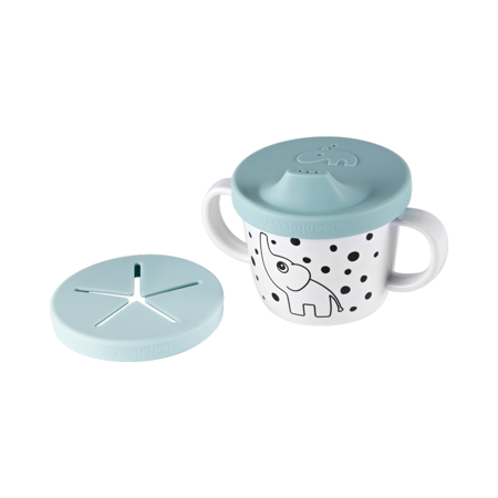 Immagine di Done by Deer® Il mio primo Set pappa Happy Dots Blue