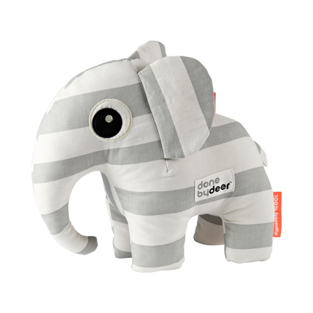 Done by Deer®  Soft Toy Elphee Grey