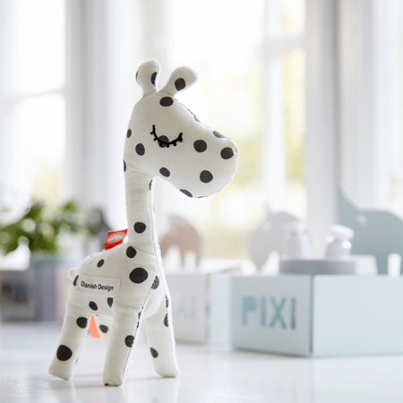 Picture of Done by Deer® Rattle Raffi Black Dots