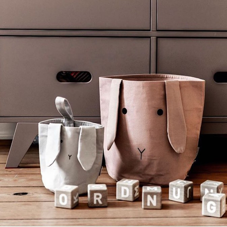 Picture of Liewood® Fabric Basket - Dumbo Grey