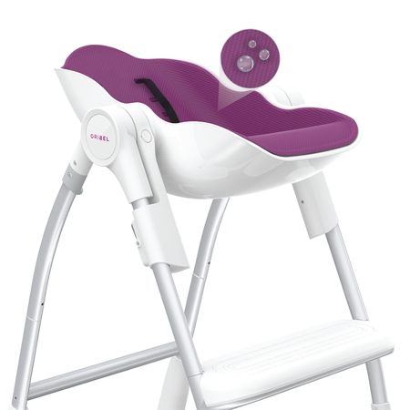 Picture of Oribel® Cacoon High Chair Plum