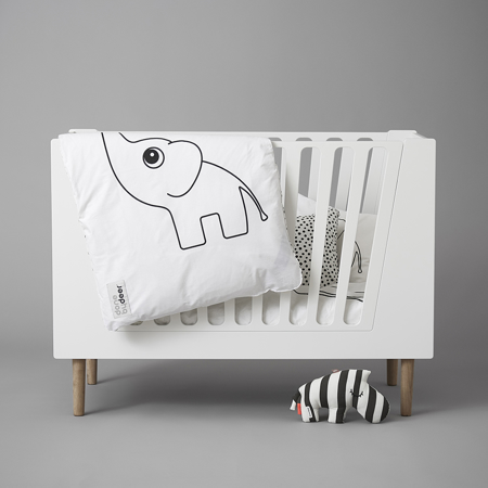 Done by Deer® Baby Cot 60x120 cm