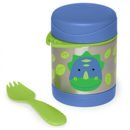 Picture of Skip Hop® Insulated Little Kid Food Jar Dinosaur