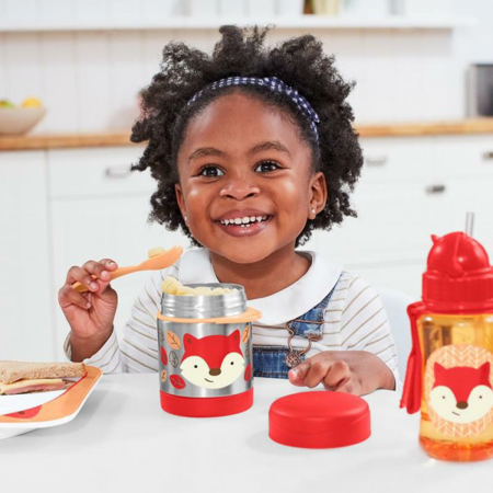 Picture of Skip Hop® Insulated Little Kid Food Jar Fox