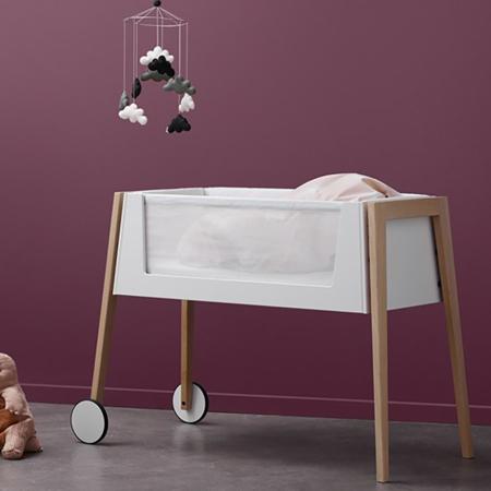 Leander® Linea Side By Side Bed Oak