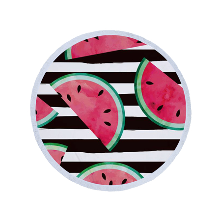 Picture of Olala Round Beach Towel - Melancholic