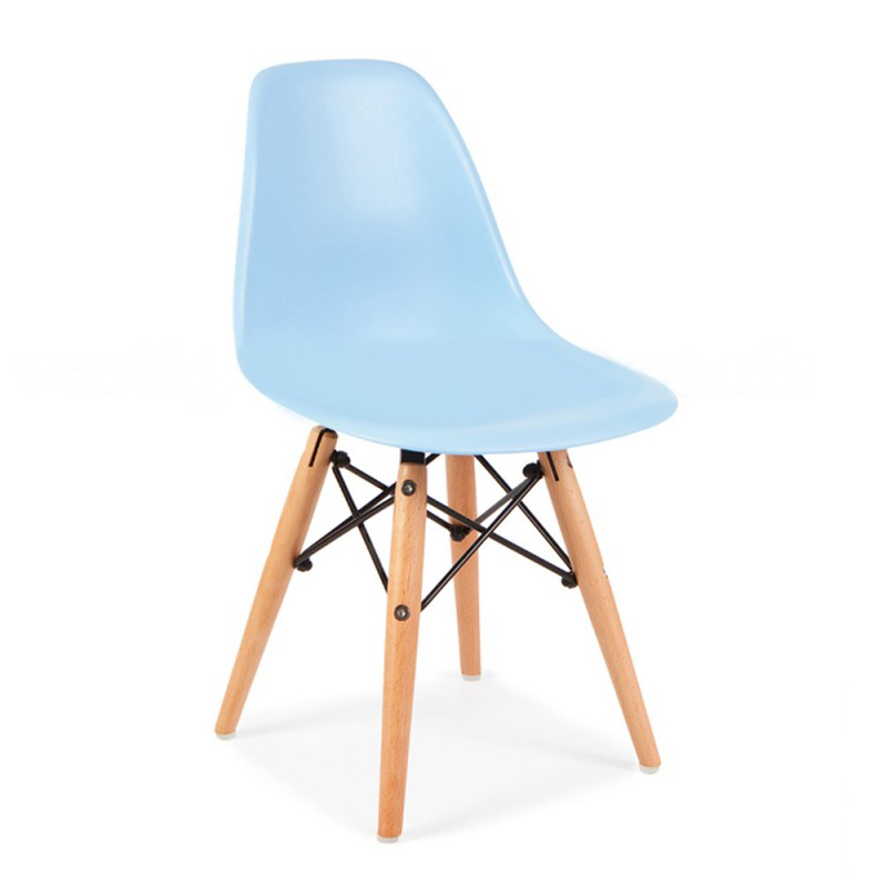 Picture of EM Scandinavian Inspired Kid's Chair Blue