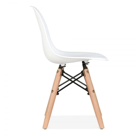 Picture of EM Scandinavian Inspired Kid's Chair White