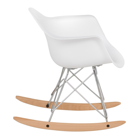 Picture of EM Scandinavian Inspired Kid's Rocking Chair White