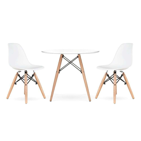 Picture of EM Scandinavian Inspired Table & Chair 2-Set White