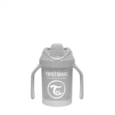 Picture of Twistshake Mini Cup 230ml (4+M) - Pastel Grey