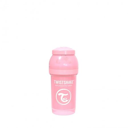 Picture of Twistshake Anti-Colic Bottle 180ml (0+M) - Pastel Pink
