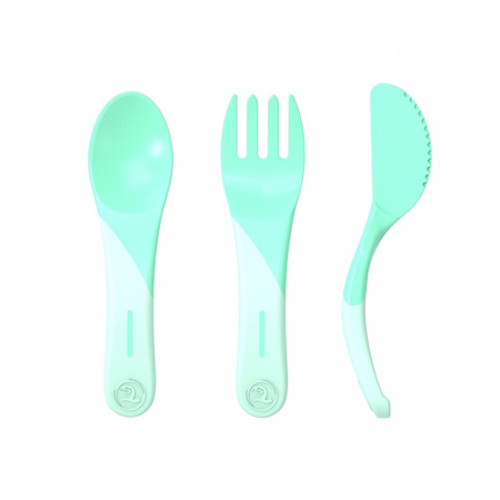 Picture of Twistshake Learn Cutlery (6+M)