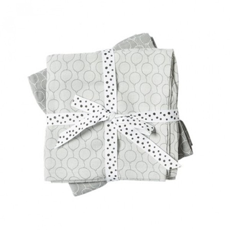 Done By Deer Swaddles 2-Pack Balloon - Grey