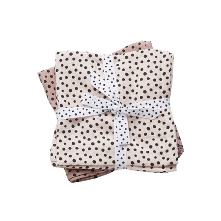 Done By Deer Swaddles 2-Pack Happy Dots - Powder