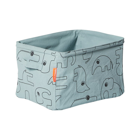 Done By Deer Soft Storage Doublesided - Blue