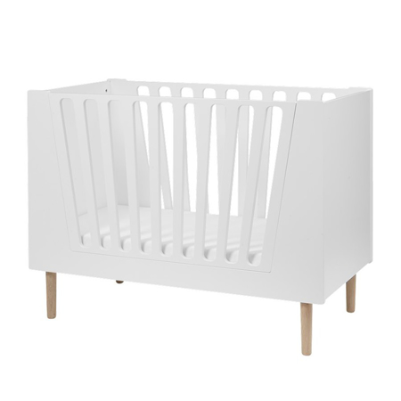 Done By Deer Baby Cot 60x120 cm - White