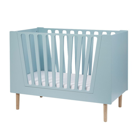 Done By Deer Baby Cot 60x120 cm - Blue