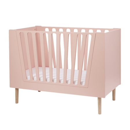 Done By Deer Baby Cot 60x120 cm - Powder