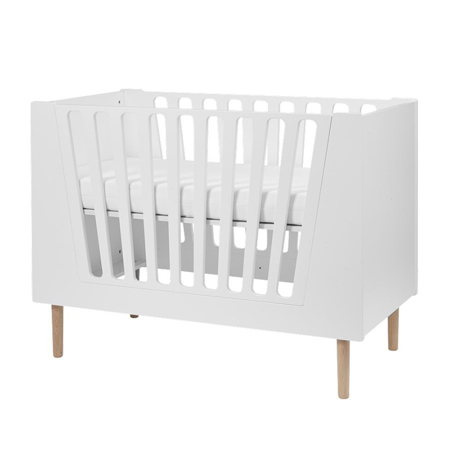 Done By Deer Baby Cot 70x140 cm - White