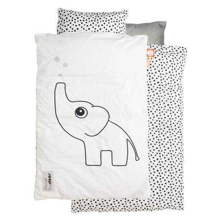 Done By Deer Elphee Bedlinen - White