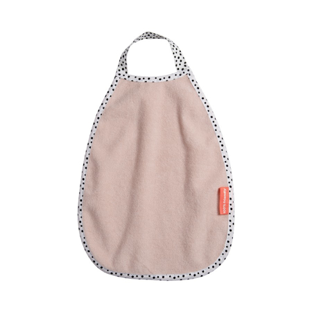Picture of Done by Deer® Pullover Terry Bib Happy Dots Powder
