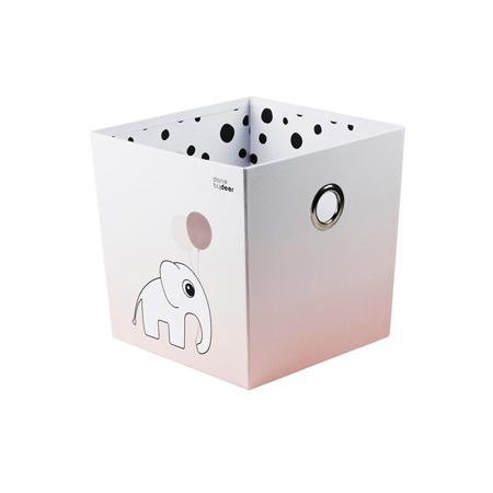 Done by Deer® Škatla za shranjevanje Happy Dots - Svetlo Roza