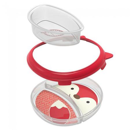 Slika Skip Hop® Otroški multifunkcijski krožnik Lisička