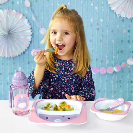 Picture of Skip Hop® Little Kid Divided Plate Narwhal