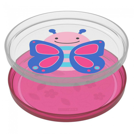 Picture of Skip Hop® Smart Serve Non-Slip Plates Butterfly