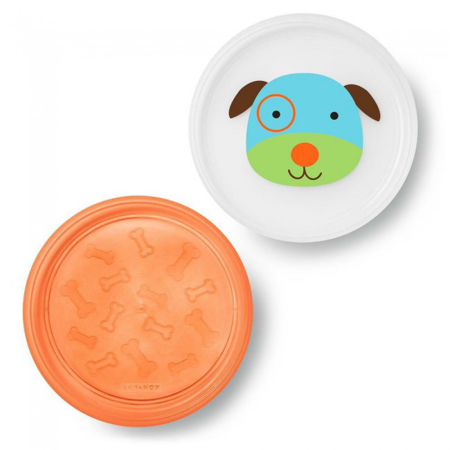 Picture of Skip Hop® Smart Serve Non-Slip Plates Puppy