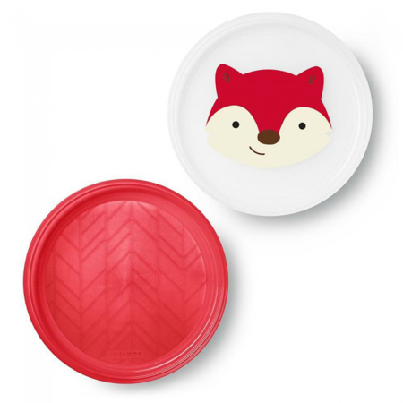 Picture of Skip Hop® Smart Serve Non-Slip Plates Fox