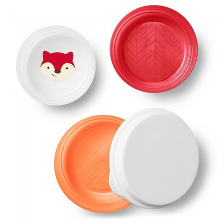 Picture of Skip Hop® Smart Serve Non-Slip Bowls Fox