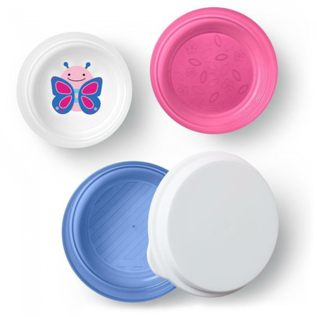 Picture of Skip Hop® Smart Serve Non-Slip Bowls Butterfly
