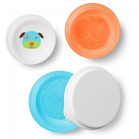 Picture of Skip Hop® Smart Serve Non-Slip Bowls Puppy