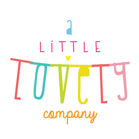 Picture of A Little Lovely Company® Letter Banner Black