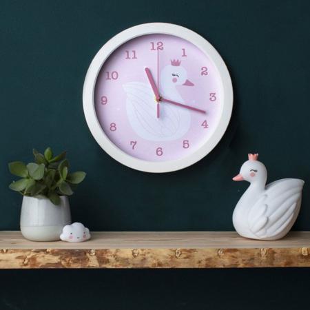 A Little Lovely Company® Clock Swan