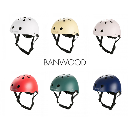 Picture of BANWOOD® Classic Helmet  3/7 (50-54cm) Red