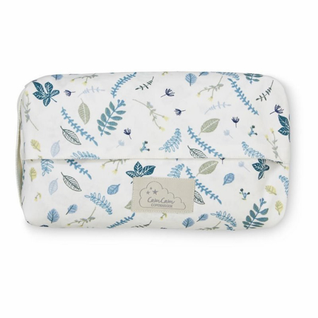 Picture of CamCam®  Wet Wipe Cover Pressed Leaves Blue