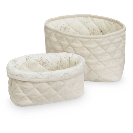 Picture of CamCam® Quilted Storage Baskets Light Sand