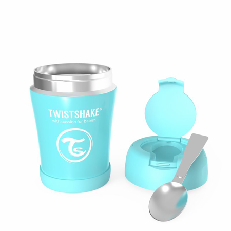 Twistshake® Stainless Steel Food Container Blue