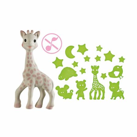 Picture of Vulli® Giraffe Sophie Good Night Pink
