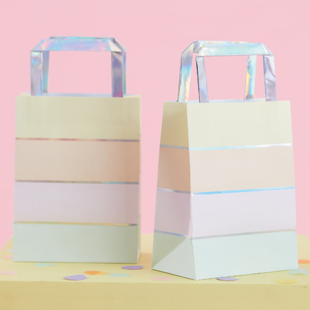 Picture of Ginger Ray® Foiled Bags Pastel Party