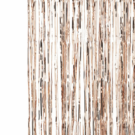 Picture of Ginger Ray® Rose Gold Fringe Curtain Pick & Mix